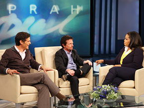 Michale fox on oprah