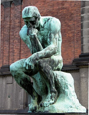The-Thinker-by-Auguste-Rodin