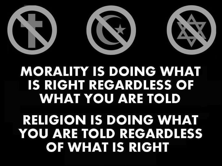 Morality and religion challenge
